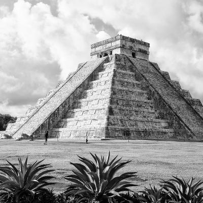 ¡Viva Mexico! Square Collection - El Castillo Pyramid - Chichen Itza VII-Philippe Hugonnard-Photographic Print