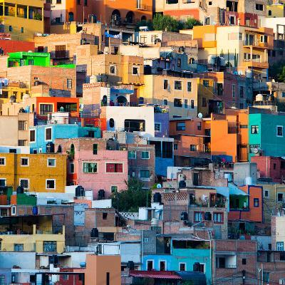 ¡Viva Mexico! Square Collection - Guanajuato at Sunset II-Philippe Hugonnard-Photographic Print