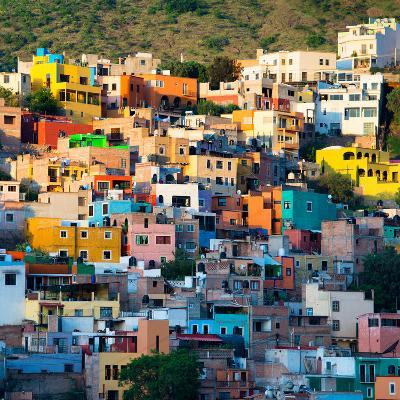 ¡Viva Mexico! Square Collection - Guanajuato at Sunset-Philippe Hugonnard-Photographic Print