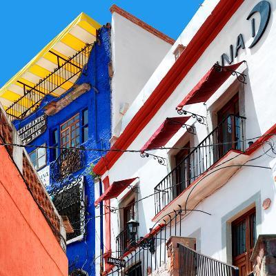 ¡Viva Mexico! Square Collection - Guanajuato Facades II-Philippe Hugonnard-Photographic Print