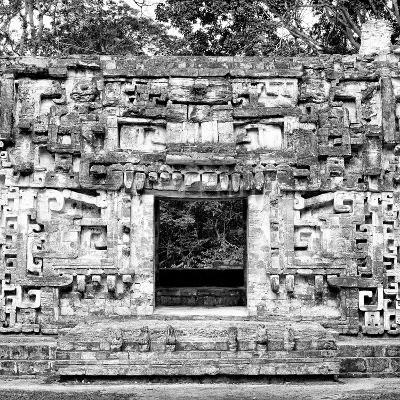 ¡Viva Mexico! Square Collection - Hochob Mayan Pyramids of Campeche III-Philippe Hugonnard-Photographic Print