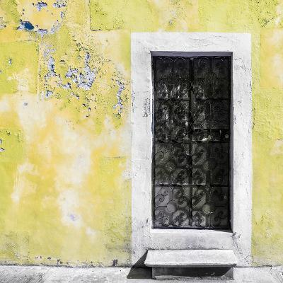¡Viva Mexico! Square Collection - Light Yellow Wall of Silence-Philippe Hugonnard-Photographic Print