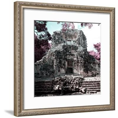¡Viva Mexico! Square Collection - Mayan Ruins of Campeche III-Philippe Hugonnard-Framed Photographic Print