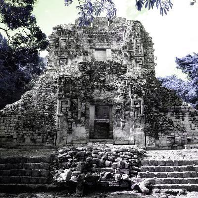 ¡Viva Mexico! Square Collection - Mayan Ruins of Campeche IV-Philippe Hugonnard-Photographic Print