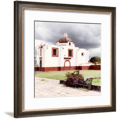 ¡Viva Mexico! Square Collection - Mexican Church V-Philippe Hugonnard-Framed Photographic Print