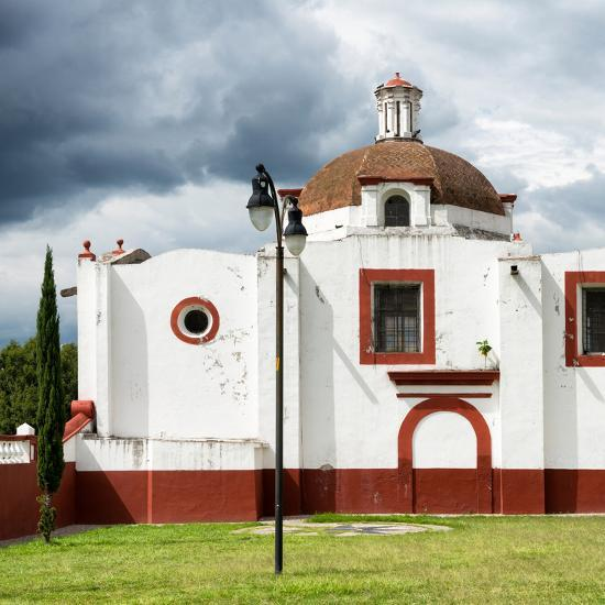 ¡Viva Mexico! Square Collection - Mexican Church-Philippe Hugonnard-Photographic Print