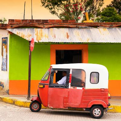 ¡Viva Mexico! Square Collection - Mexican Tuk Tuk-Philippe Hugonnard-Photographic Print