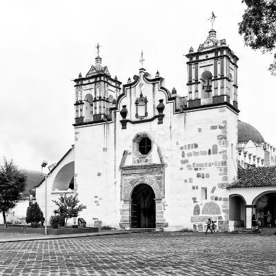 ?Viva Mexico! Square Collection - Mexican White Church II-Philippe Hugonnard-Photographic Print