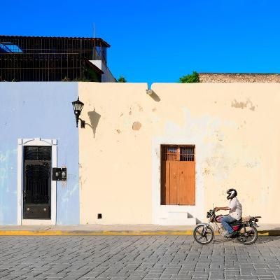 ¡Viva Mexico! Square Collection - Motorbike Ride in Campeche-Philippe Hugonnard-Photographic Print