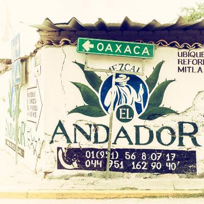 ¡Viva Mexico! Square Collection - Oaxaca Sign II-Philippe Hugonnard-Photographic Print