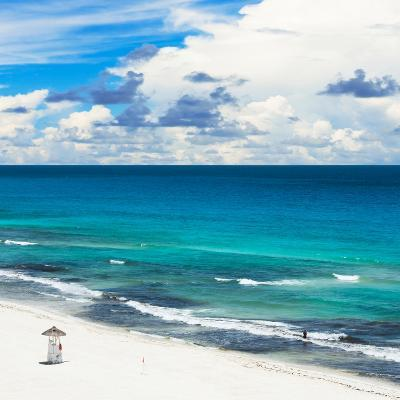 ¡Viva Mexico! Square Collection - Ocean and Beach View - Cancun-Philippe Hugonnard-Photographic Print