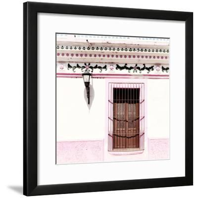 ¡Viva Mexico! Square Collection - Pink Facade II-Philippe Hugonnard-Framed Photographic Print