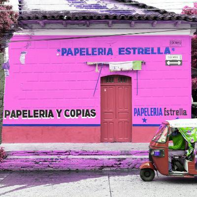 ¡Viva Mexico! Square Collection - Pink Papeleria-Philippe Hugonnard-Photographic Print