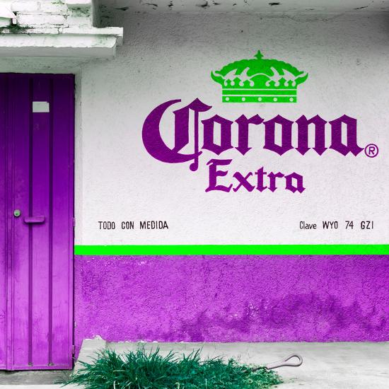 ¡Viva Mexico! Square Collection - Purple Extra-Philippe Hugonnard-Photographic Print