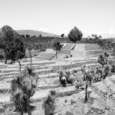 ¡Viva Mexico! Square Collection - Pyramid of Cantona Archaeological Ruins II-Philippe Hugonnard-Photographic Print