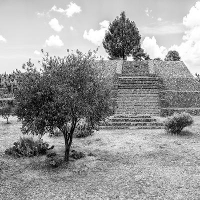 ¡Viva Mexico! Square Collection - Pyramid of Cantona I-Philippe Hugonnard-Photographic Print