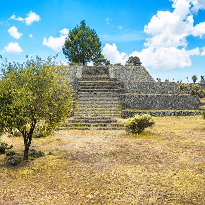 ¡Viva Mexico! Square Collection - Pyramid of Cantona-Philippe Hugonnard-Photographic Print