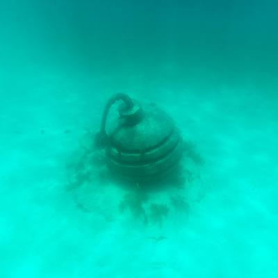¡Viva Mexico! Square Collection - Sculptures at bottom of sea in Cancun II-Philippe Hugonnard-Photographic Print