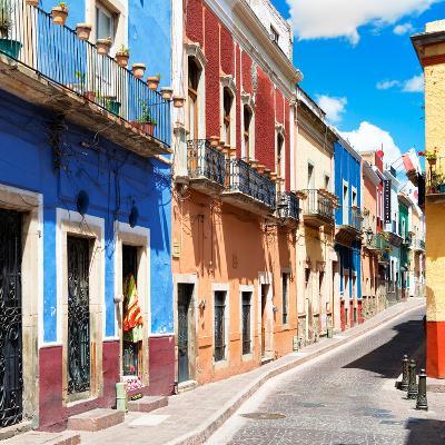 ¡Viva Mexico! Square Collection - Street Scene Guanajuato II-Philippe Hugonnard-Photographic Print