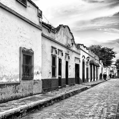 ¡Viva Mexico! Square Collection - Street Scene in San Cristobal de Las Casas I-Philippe Hugonnard-Photographic Print