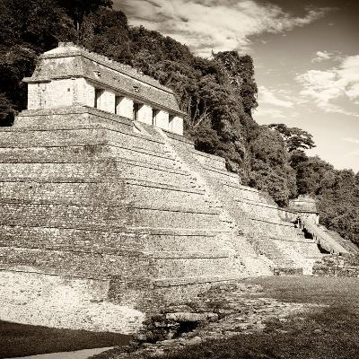 ¡Viva Mexico! Square Collection - Temple of Inscriptions in Palenque II-Philippe Hugonnard-Photographic Print