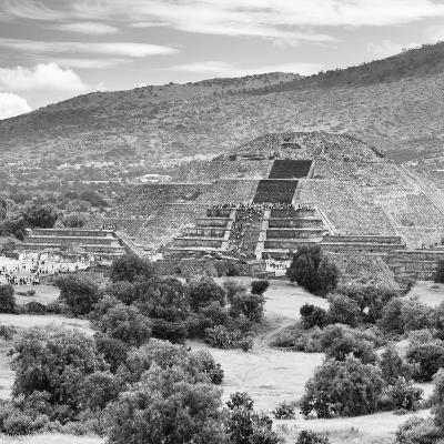 ¡Viva Mexico! Square Collection - Teotihuacan Pyramids Ruins III-Philippe Hugonnard-Photographic Print