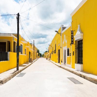 ¡Viva Mexico! Square Collection - The Yellow City II - Izamal-Philippe Hugonnard-Photographic Print