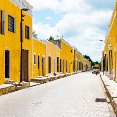 ¡Viva Mexico! Square Collection - The Yellow City III - Izamal-Philippe Hugonnard-Photographic Print
