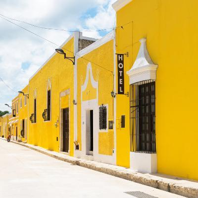 ¡Viva Mexico! Square Collection - The Yellow City - Izamal-Philippe Hugonnard-Photographic Print