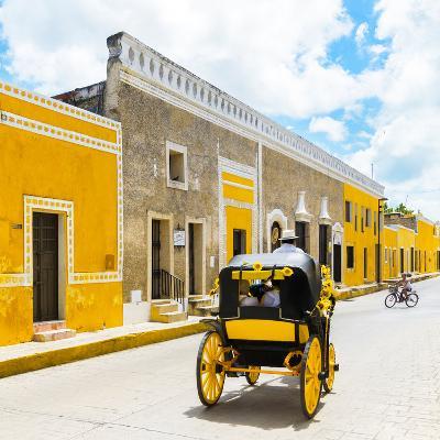¡Viva Mexico! Square Collection - The Yellow City V - Izamal-Philippe Hugonnard-Photographic Print