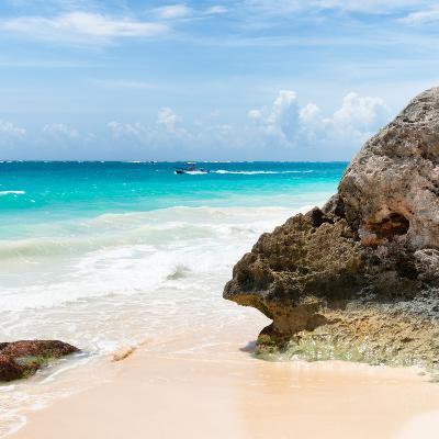 ?Viva Mexico! Square Collection - Tulum Caribbean Coastline IX-Philippe Hugonnard-Photographic Print