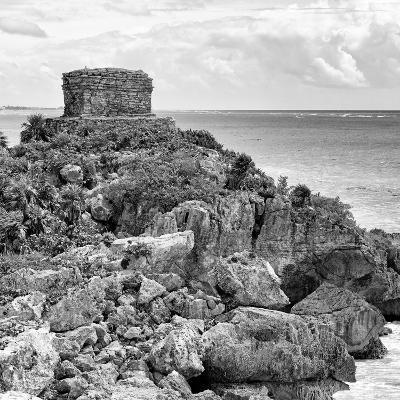 ¡Viva Mexico! Square Collection - Tulum Caribbean Coastline XII-Philippe Hugonnard-Photographic Print