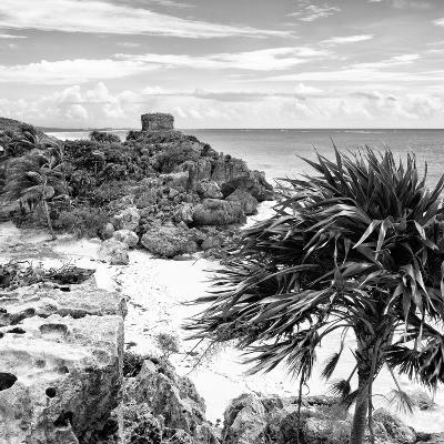¡Viva Mexico! Square Collection - Tulum Ruins along Caribbean Coastline I-Philippe Hugonnard-Photographic Print