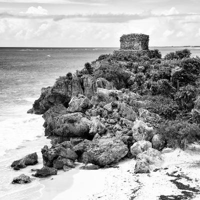 ¡Viva Mexico! Square Collection - Tulum Ruins along Caribbean Coastline XII-Philippe Hugonnard-Photographic Print