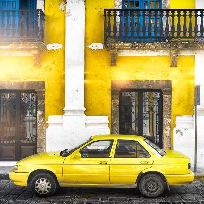 ¡Viva Mexico! Square Collection - Yellow Campeche II-Philippe Hugonnard-Photographic Print