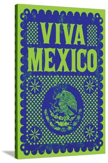 Viva Mexico--Stretched Canvas Print