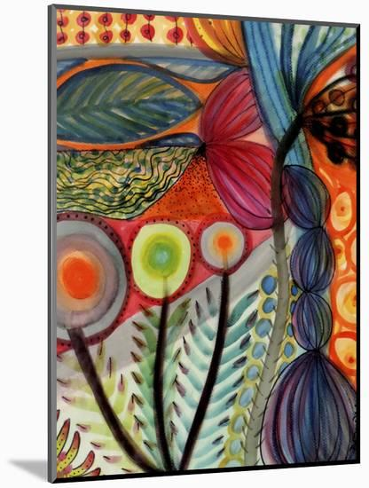 Vivaces-Sylvie Demers-Mounted Premium Giclee Print