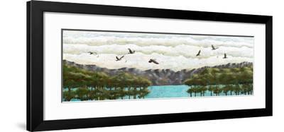 Vivacité immobilité-Marie Claprood-Framed Art Print