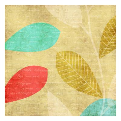Vivd Leaves-Kristin Emery-Art Print