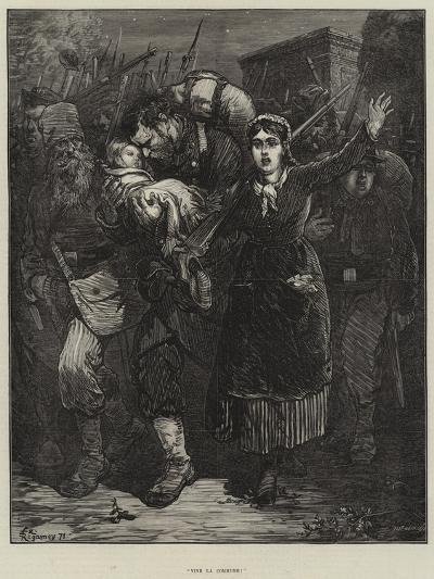 Vive La Commune!-Felix Regamey-Giclee Print