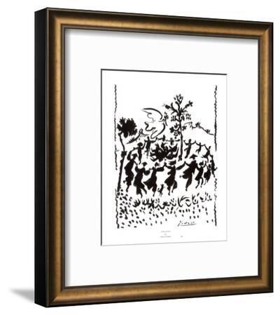 Vive la Paix-Pablo Picasso-Framed Art Print