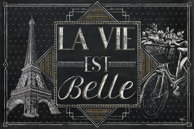 Vive Paris II-Janelle Penner-Art Print