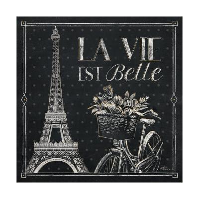 Vive Paris VI-Janelle Penner-Art Print