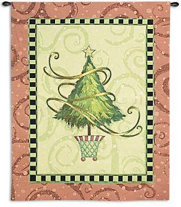 Christmas Topiary by Vivian Eisner