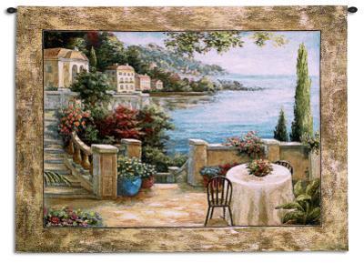 Mediterranean Terrace I by Vivian Flasch