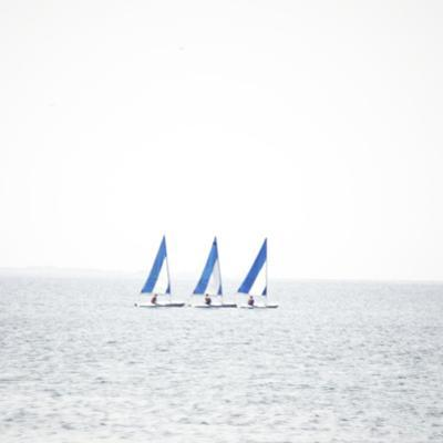 Three Boats by Viviane Fedieu Daniel