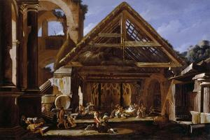 Adoration of the Shepherds, 1655-1659 by Viviano Codazzi