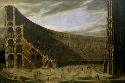 Perspective of a Roman Amphitheatre, ca. 1638