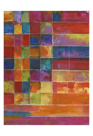 Vivid Color Block-Smith Haynes-Art Print