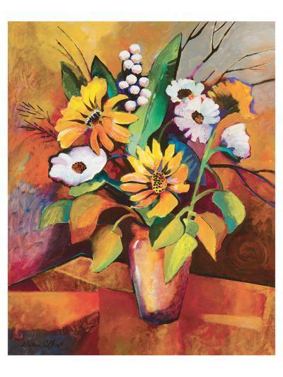 Vivid Still Life IV-Warren Cullar-Art Print